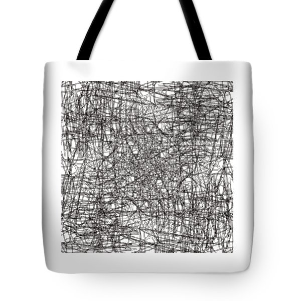 Wired Abstraction Tote Bag by Eleonora Perlic