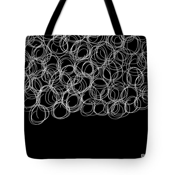 Tote Bag featuring the painting Wired by Lisa Weedn