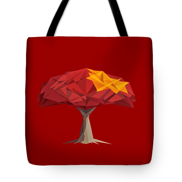 Wired Tree  Tote Bag
