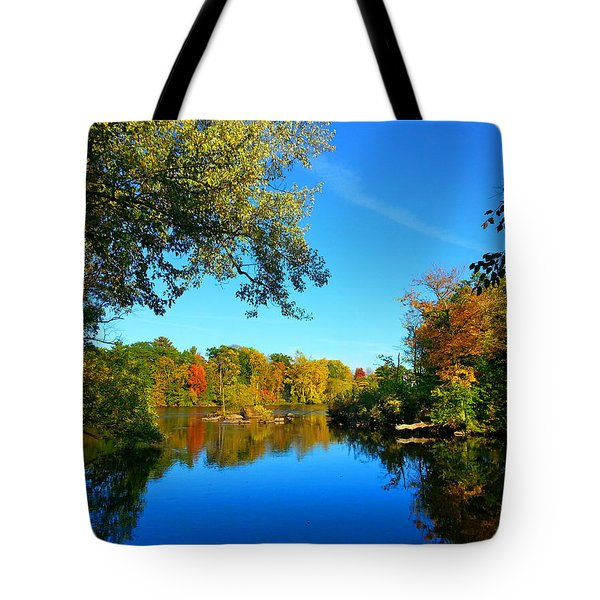 Wisconsin River Colors 2 Tote Bag