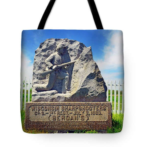Wisconsin Sharpshooters Tote Bag
