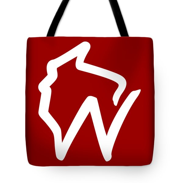 Wisconsin W Tote Bag