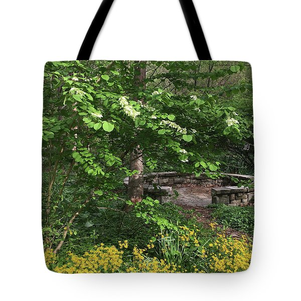 Tote Bag featuring the photograph Wisdom Circle by Chris Scroggins