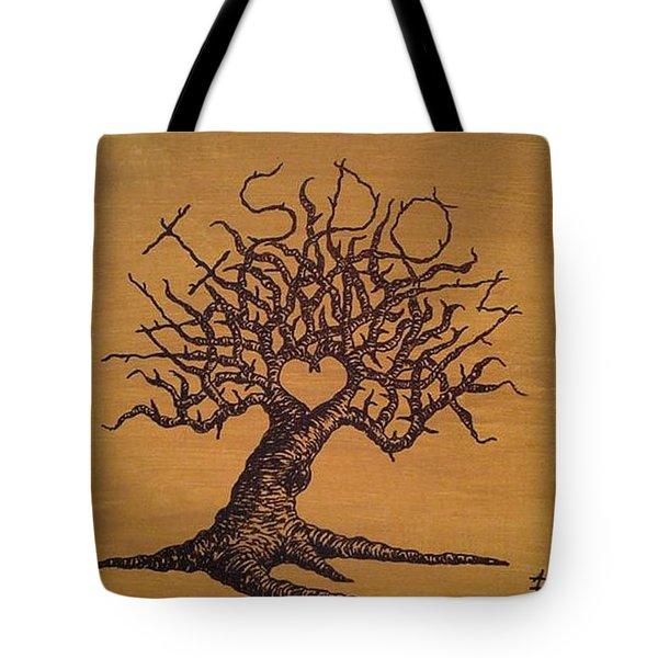 Wisdom Love Tree Tote Bag