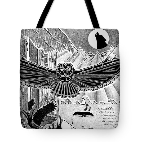 Wisdom Of The Ancestors  Tote Bag