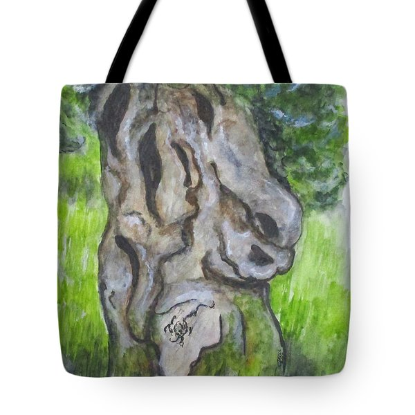 Wisdom Olive Tree Tote Bag