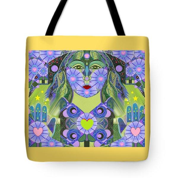 Wisdom Rising Tote Bag