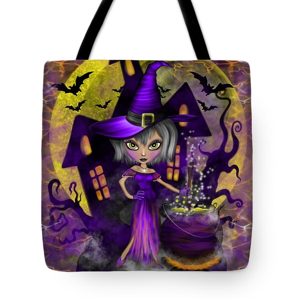 Wisdom Witch Fantasy Art Tote Bag
