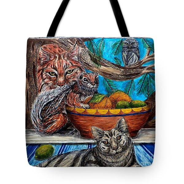 Wisdom Would Say Tote Bag
