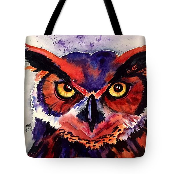 Tote Bag featuring the painting Wisdom's Strength by Michal Madison