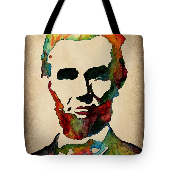 Wise Abraham Lincoln Quote Tote Bag