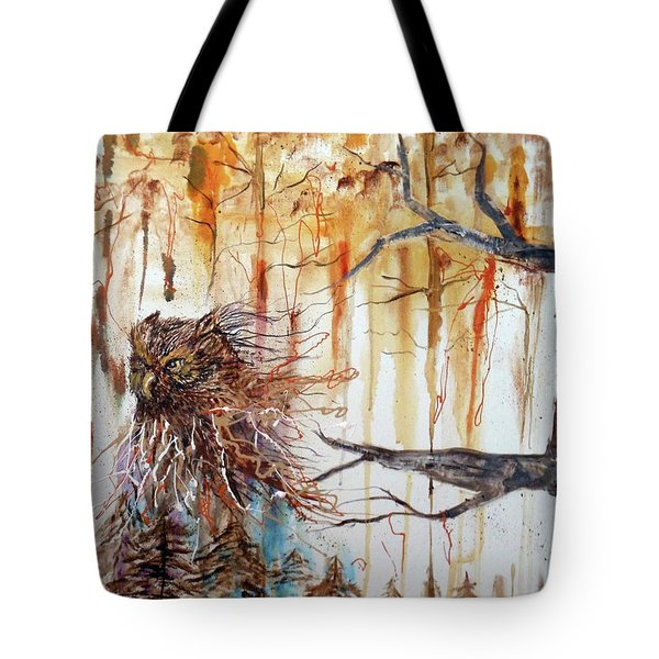 Wise Guardian Of The Forest Tote Bag