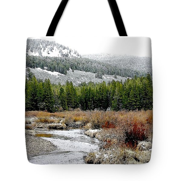 Wise River Montana Tote Bag