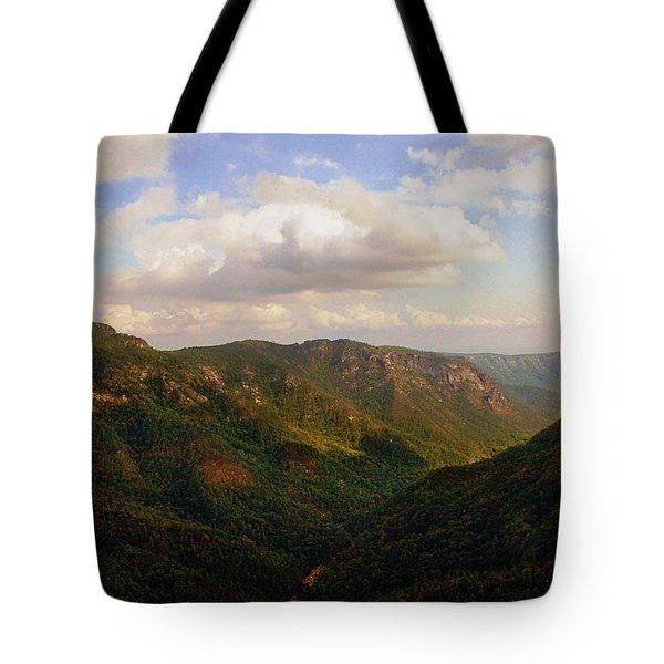 Tote Bag featuring the photograph Wiseman's View by Jessica Brawley