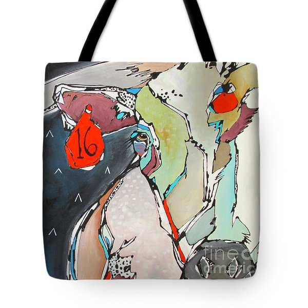 Wish On A Lucky Steer Tote Bag by Nicole Gaitan