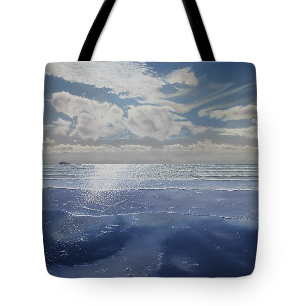 Wish You Were Here Tote Bag by Paul Newcastle