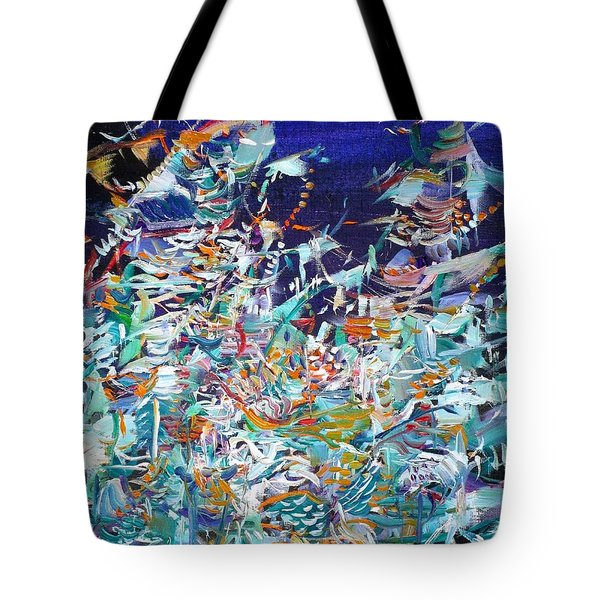 Tote Bag featuring the painting Wishes by Fabrizio Cassetta