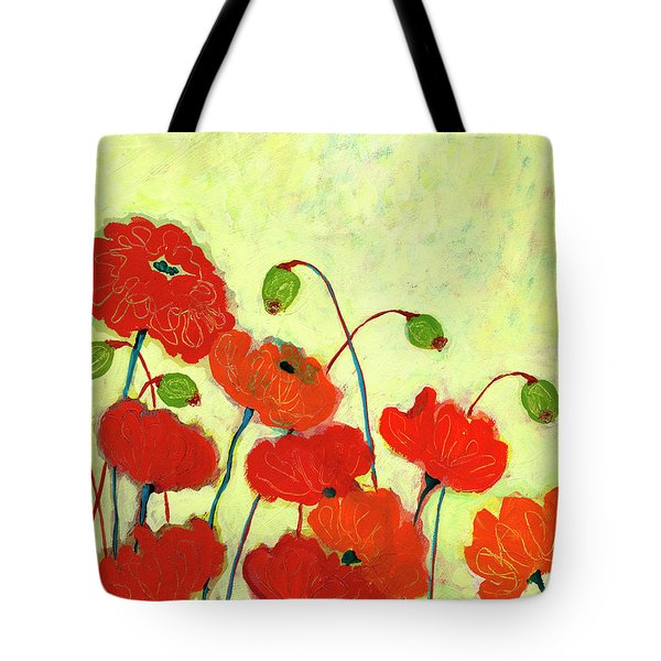 Wishful Blooming Tote Bag