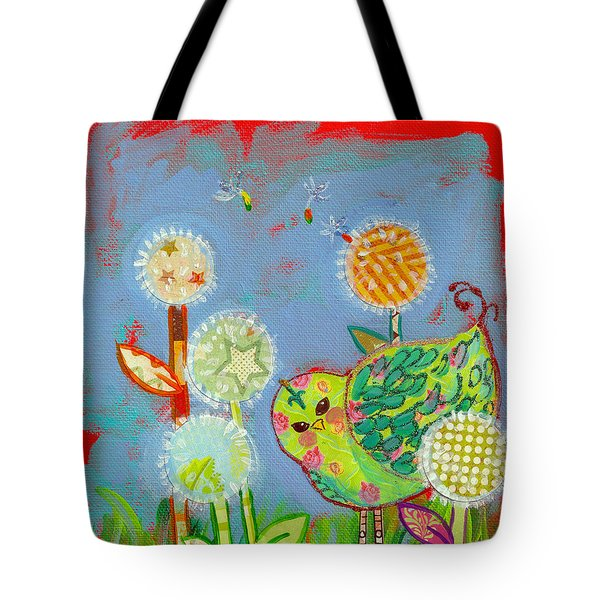 Wishful Thinking Birdy Tote Bag