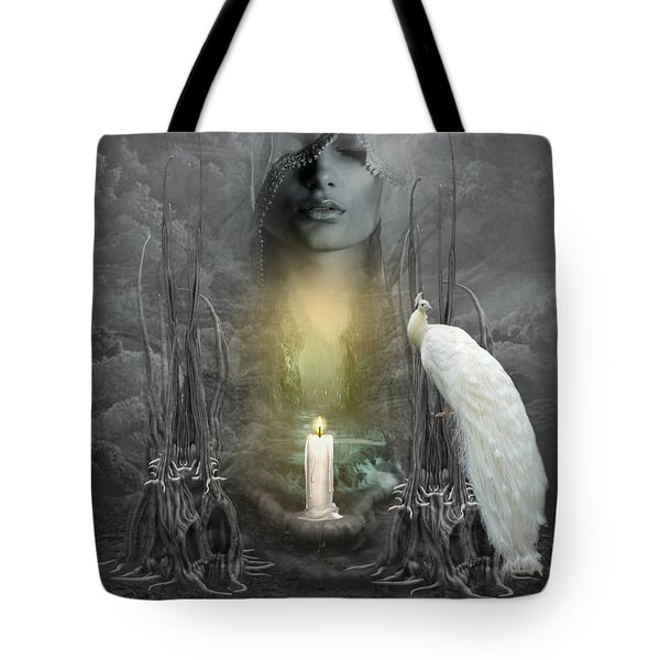 Wishing Candle Tote Bag