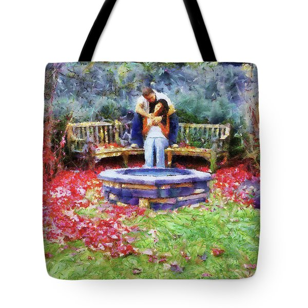 Wishing Pond Tote Bag by Jai Johnson