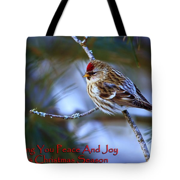 Tote Bag featuring the photograph Wishing You Peace And Joy by Gary Hall