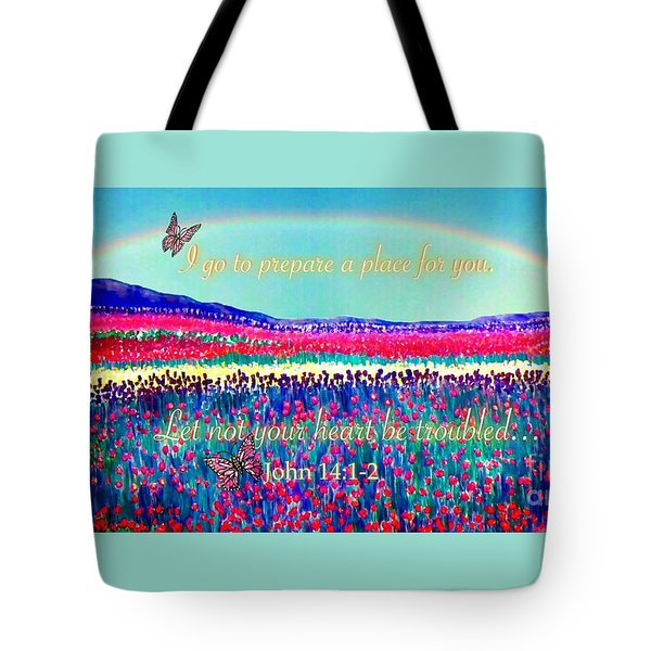 Wishing You The Sunshine Of Tomorrow Bereavement Card Tote Bag