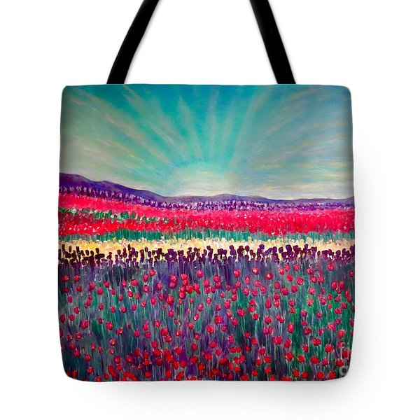 Wishing You The Sunshine Of Tomorrow Cropped Version Tote Bag