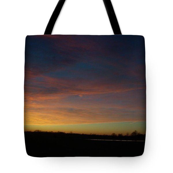 Wisp Of Color Tote Bag