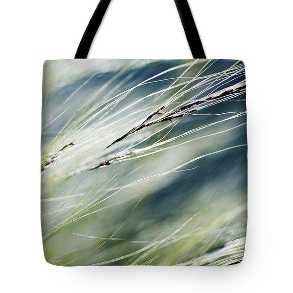Wispy Grass Tote Bag by Ray Laskowitz - Printscapes