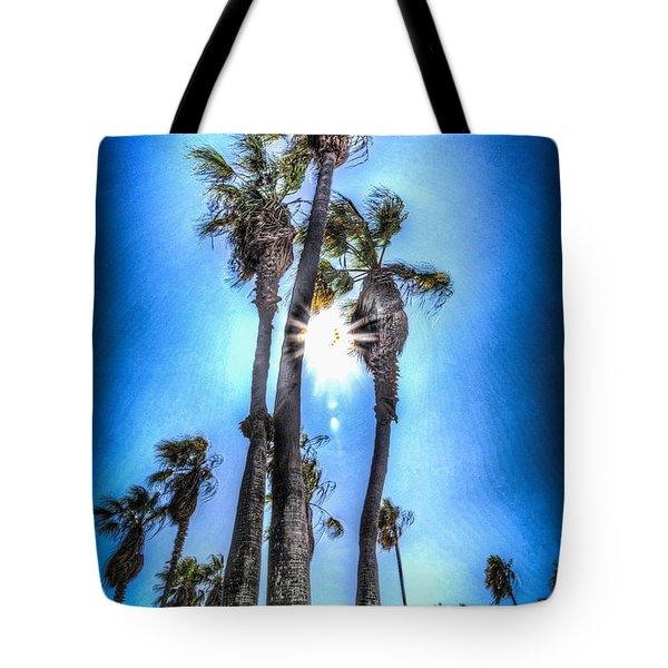 Wispy Palms Tote Bag
