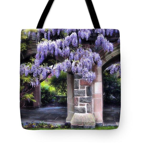 Wisteria Lane Tote Bag