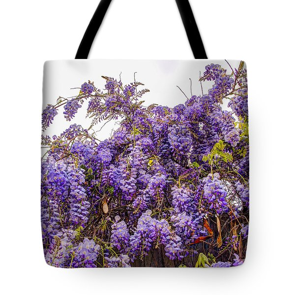 Wisteria Spring Bloom Tote Bag