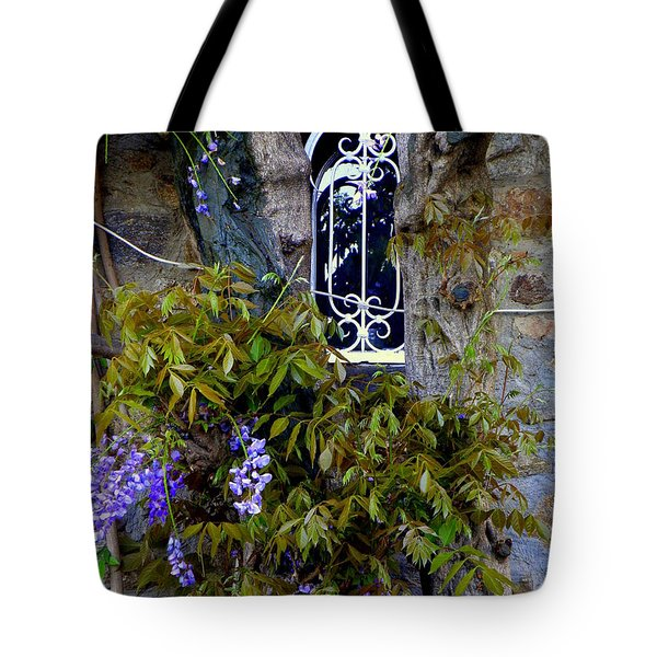 Wisteria Window Tote Bag
