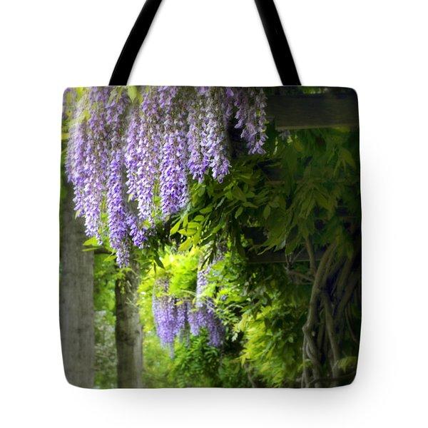 Wisteria Woodland Tote Bag