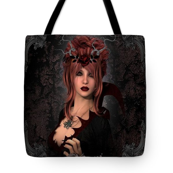 Witch Beauty Tote Bag