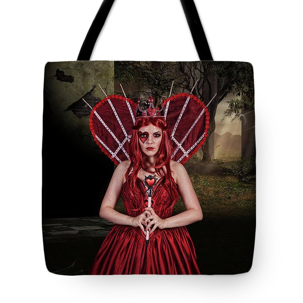 Witch Queen Of New Orleans Tote Bag