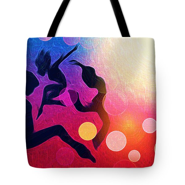 Witches Dance Tote Bag