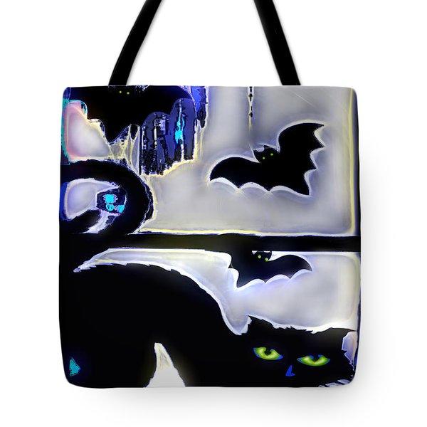 Witchin' Night Tote Bag