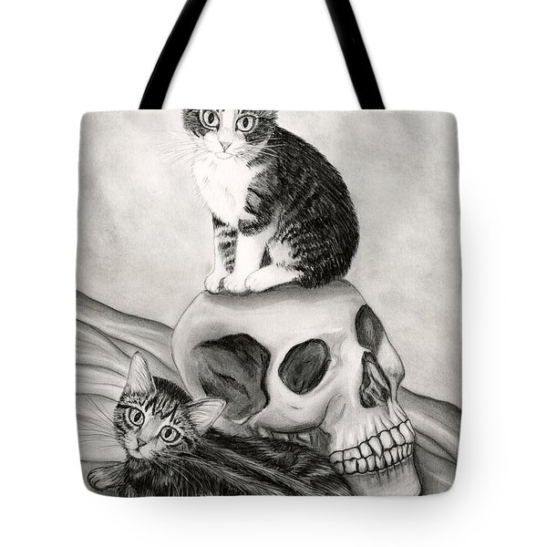 Witch's Kittens Tote Bag