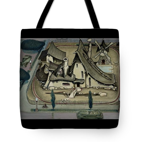 Witch's Summer House Tote Bag