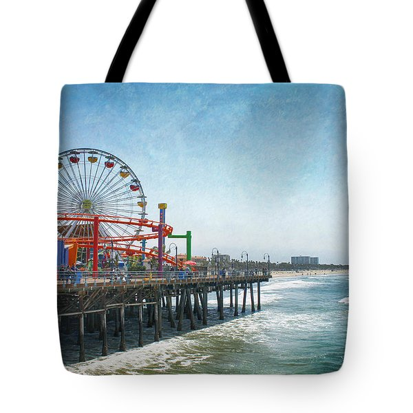 With A Smile On My Face Tote Bag