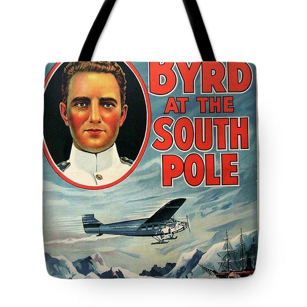 With Byrd At The South Pole 1930 Tote Bag