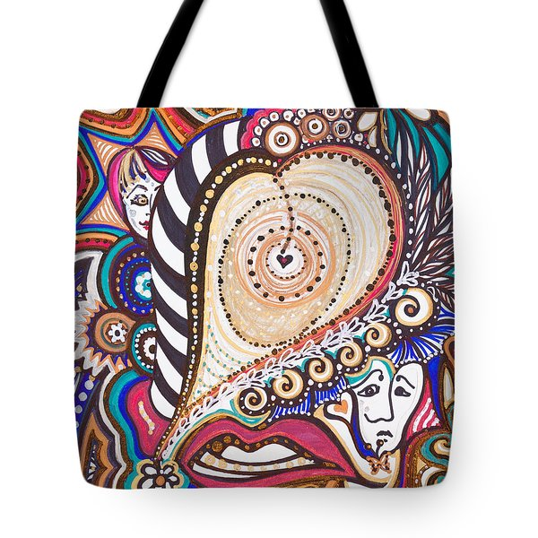 With Deep Thoughts And Tears - Vii Tote Bag