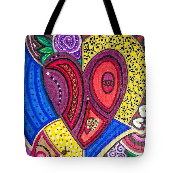 With Eyes Half Open Tote Bag