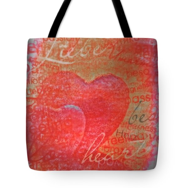 With Heart Tote Bag