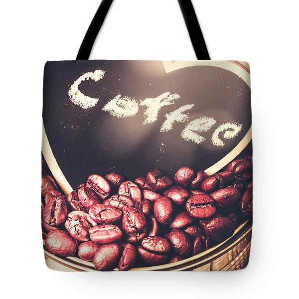 With Light And Coffee Love Tote Bag