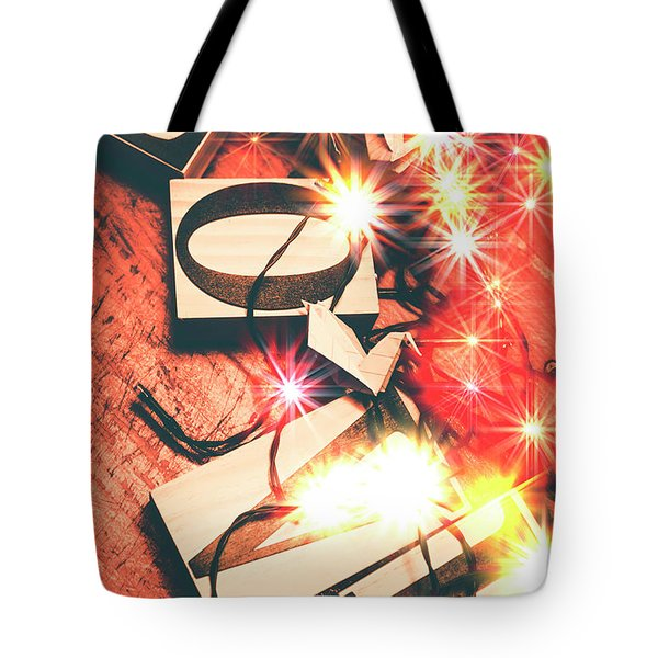 With Love And Lights Tote Bag