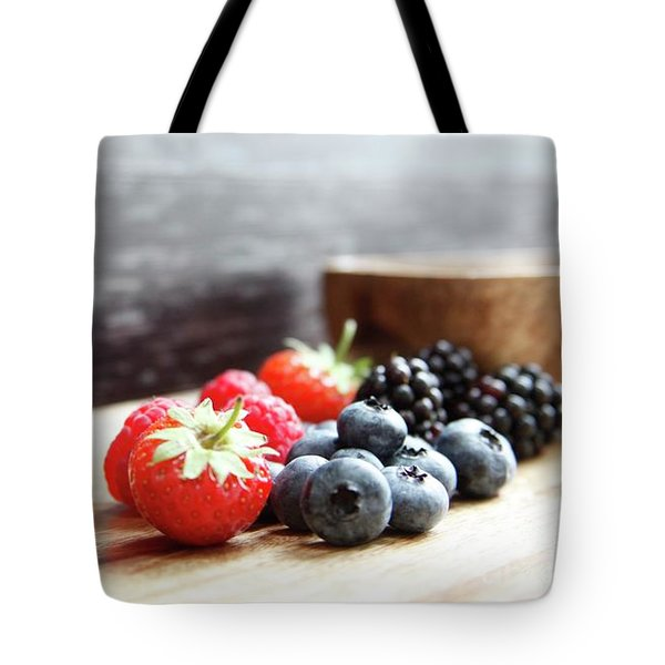 With Love From Berry Country  Tote Bag