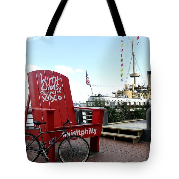 With Love From Philly Tote Bag